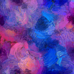 Varicoloured texture from oil paints