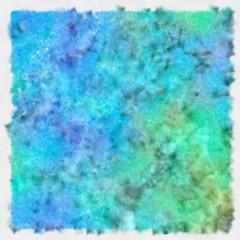Watercolor dots texture