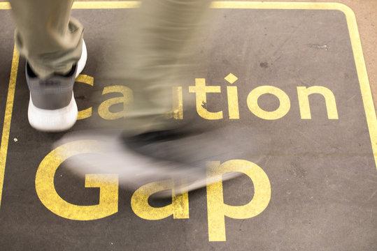 Caution, mind the gap