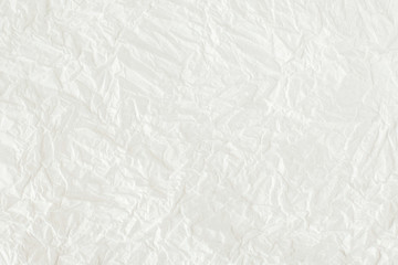 White  mulberry paper is wrinkled texture ,Abstract paper white background