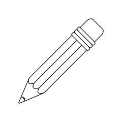 conotur pencil icon stock image, vector illustration design
