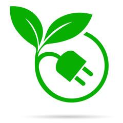 plug and leaf eco concept