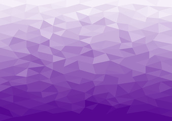Ice Polygonal Mosaic Background