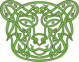 Bear Celtic Knot