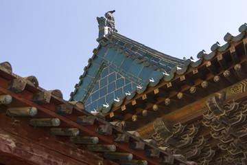 Buddhistische Kosteranlage in der Mongolei