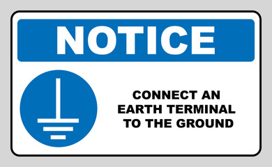 Disconnect Mains Plug From Electrical Outlet Sign Blue Mandatory