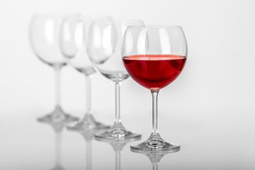 Wine glasses composition