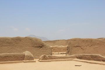 Peru, Chan Chan ruins