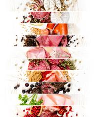 Ham and Salami Mix