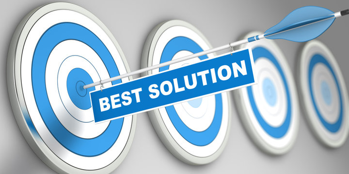Best Solution / Target / 3d