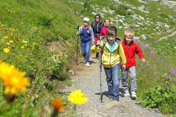 Bergwanderung mit den Kindern