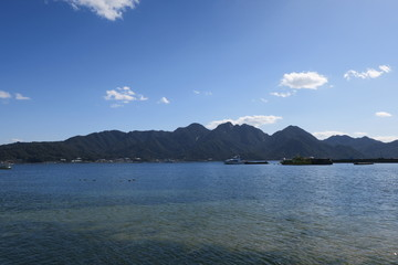 宮島-対岸からの眺め-