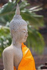 Buddha statue in Ayutthaya, Thailand