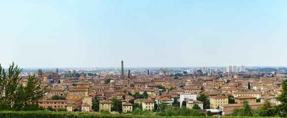 Blick über Bologna