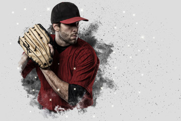 Fototapete - Pitcher Baseball