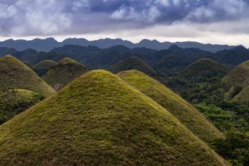 Filipiny Czekoladowe Wzgórza