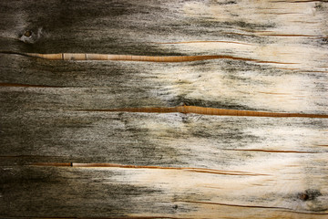 Old cracked plywood, abstract background, vintage