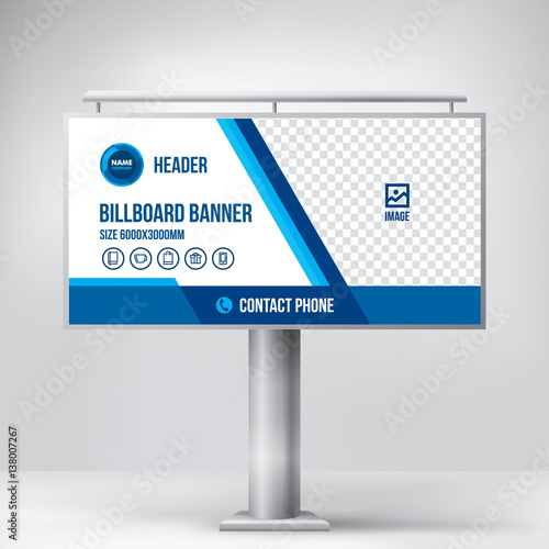 billboard design multipurpose banner template for posting photos