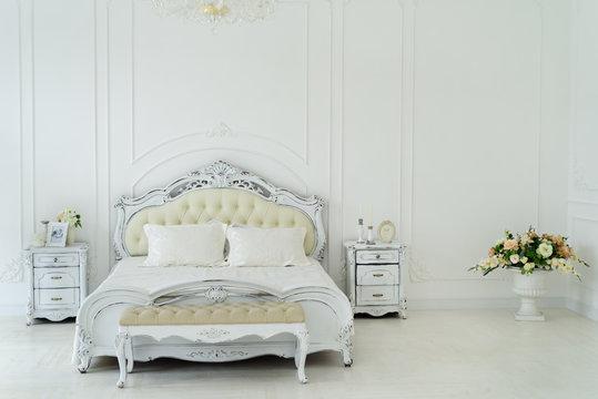 Royal interior bedroom