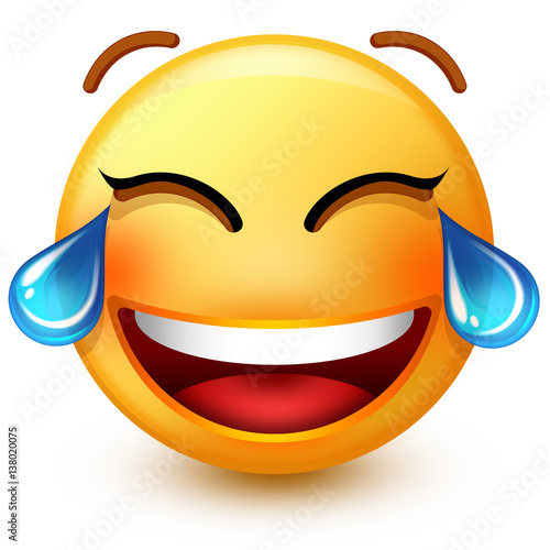Crying Laughing Face Emoji | www.pixshark.com - Images ...