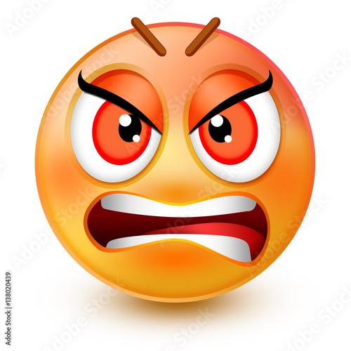 Mad emoticon