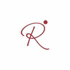 Letter R People Logo