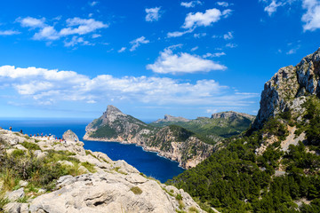 Cap de formentor - beaufitul coast of Mallorca, Spain - Europe