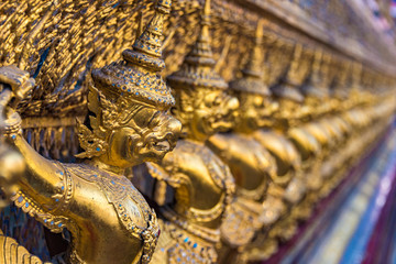 Garuda decoration on Grand Palace, Bangkok, Thailand