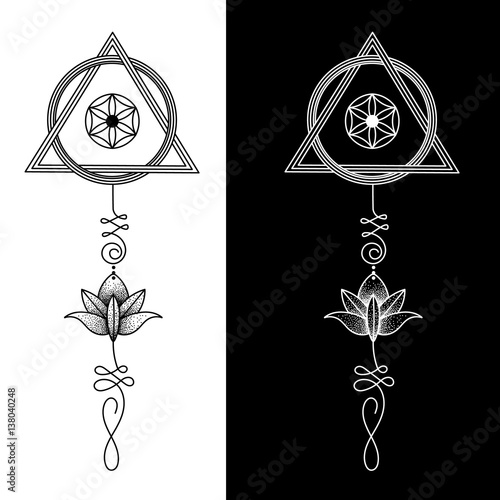 """""""The Unalome is originally a hindu symbol that graphically ..."""