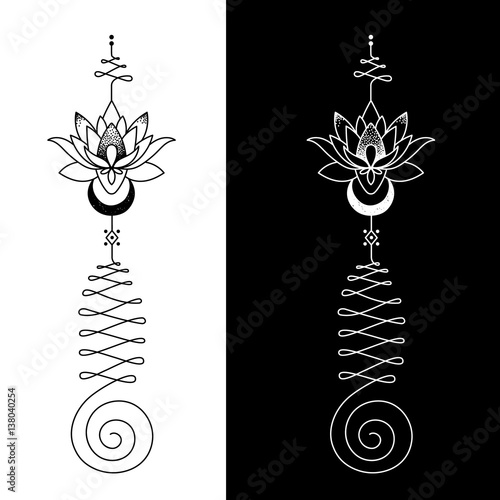 The Unalome Is Originally A Hindu Symbol That Graphically Recalls