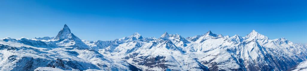 Swiss Mountains Panorama