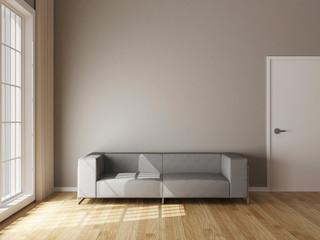 Livingroom Interior with sofa