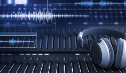 Headphones and Audio Tracks