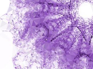 Abstract multicolor mosaic backdrop. Design template. Vector clip art