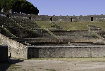 Roman Ampitheatre at Pompeii
