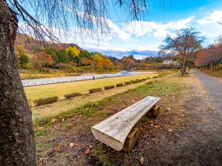 Minakami during Autumn in Japan, Gunma Prefecture