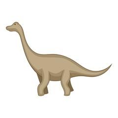 Tyrannosaurus icon, cartoon style