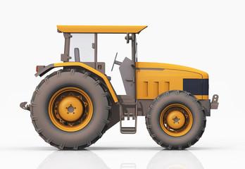 Traktor, Seitenansicht
