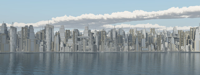 Panorama Stadtansicht