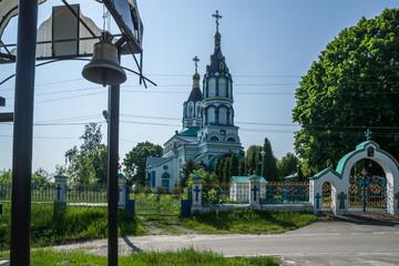 St. Elias Church in Chernobyl town, Chernobyl Exclusion Zone, Ukraine