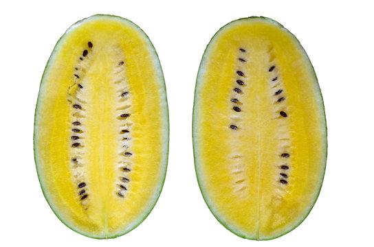 The Yellow Watermelon.
