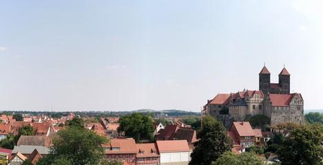 Panorama der Stadt Quedlinburg