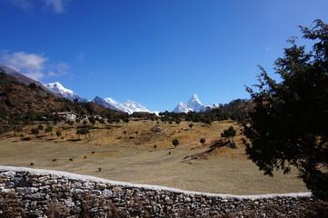 Himalayan Scenery - Ama Dablam and Everest