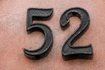 Hausnummer zweiundfünfzig