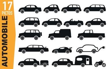Icônes - Voitures - Modèles - Automobile