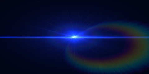 Abstract backgrounds space blue neon lights (super high resolution and ultra wide)