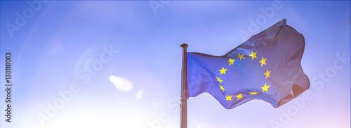 Wall mural european flag