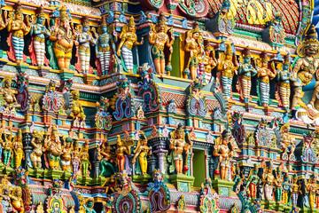 Indien - Tamil Nadu - Madurai - Meenakshi Sundrareshva Tempel.