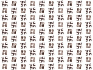 Texture with rendering abstract fractal brown pattern