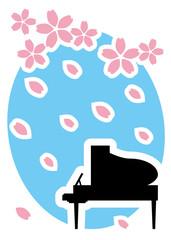 桜 コンサート ピアノ